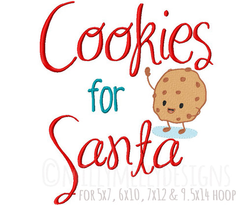 Cookies for Santa millymellydesigns