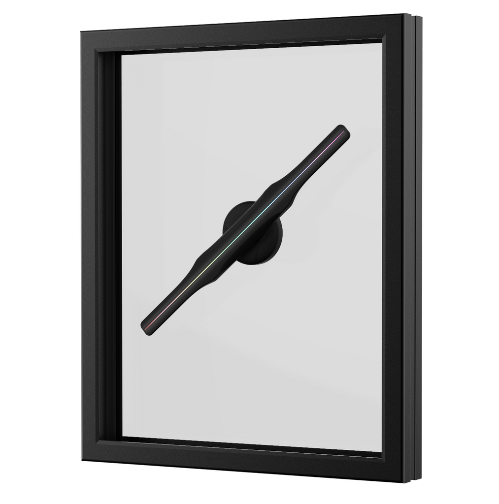 New Release! DL-50 DL-65 DL-100 Window - DSee.Labs Hologram 3D LED FAN Display 50cm/65cm/100cm version with framed window