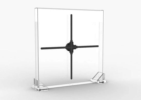DSee-100z HD DSee-1m DSee.Labs Hologram 3D LED FAN Display 1m HD version