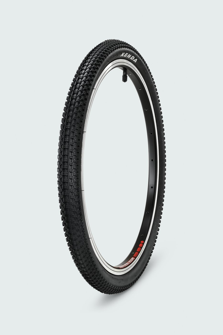 woom bike tyre by Kenda
