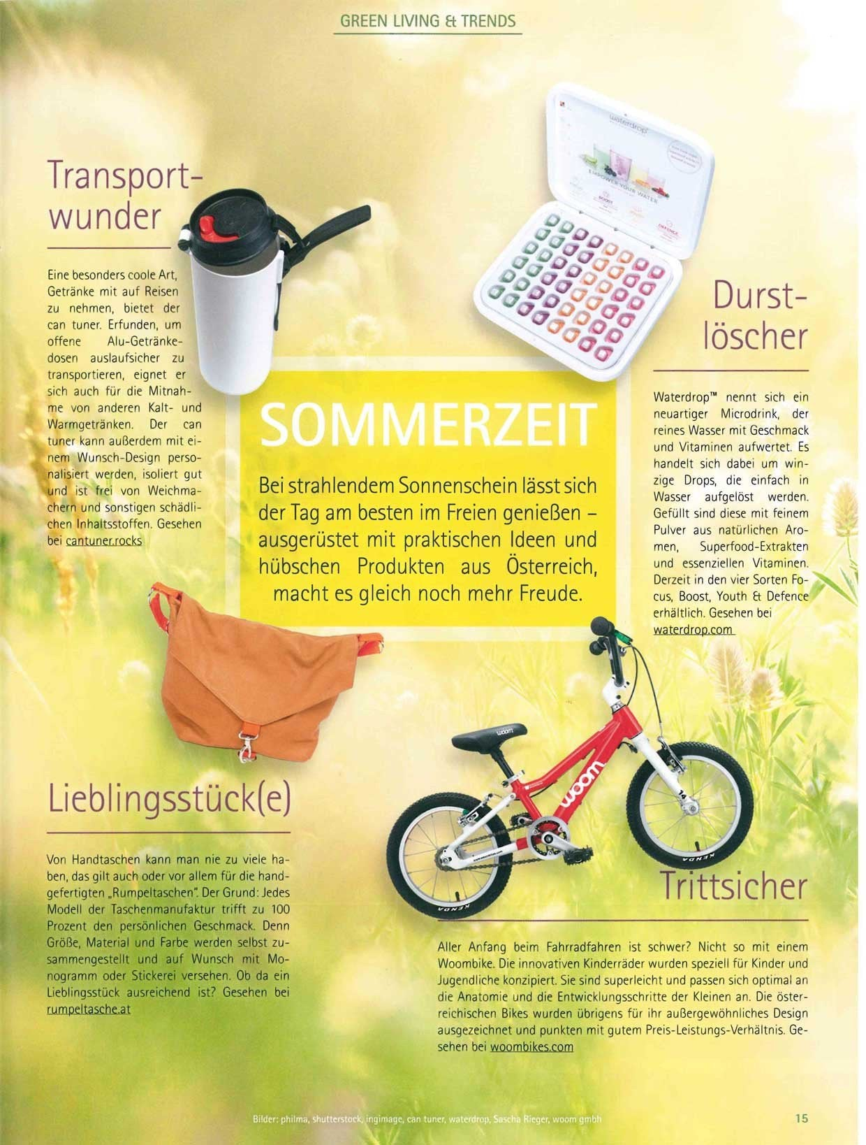 Green Living & Trends: woom in Raumhaft - woombikes kinderleicht ...