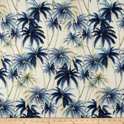 Tommy Bahama Indoor/Outdoor Artisan Palms Night One Curtain Panel - Custom made to order quality drapes Weather Proof/Resistant Tropical
