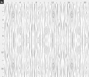 "Organic Cotton ""Woodgrain- small- grey,white - tree bark wood"" One Curtain Panel - Cotton and Blackout lining available - Nature home decor, Outdoorsy curtains, Lodge, Cottage"
