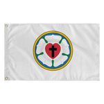 3' x 5' Luther's Rose Flag-Flags-LutheranPub.com