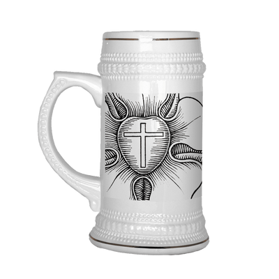 Luther and Rose 22oz Stein-Drinkware-LutheranPub.com