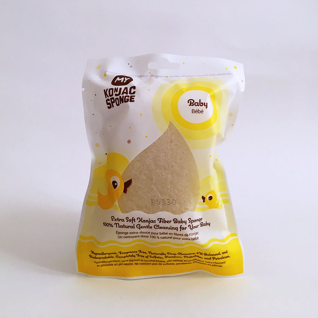 My Konjac Sponge For Baby Body & Bath