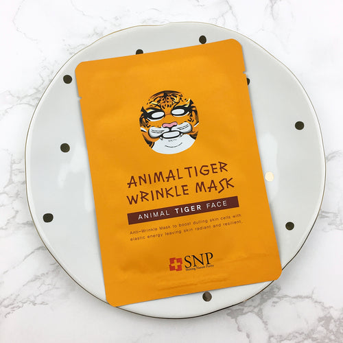 Animal Tiger Wrinkle Mask