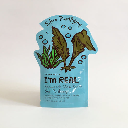 I'm Real Seaweeds Mask Sheet Skin Purifying