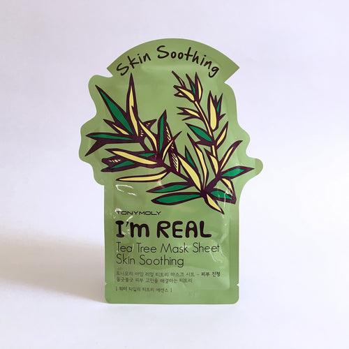 I'm Real Tea Tree Mask Sheet Skin Soothing