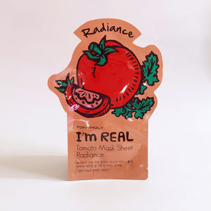I'm Real Tomato Mask Sheet Radiance