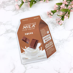 Chocolate Milk One Pack Mask Sheet