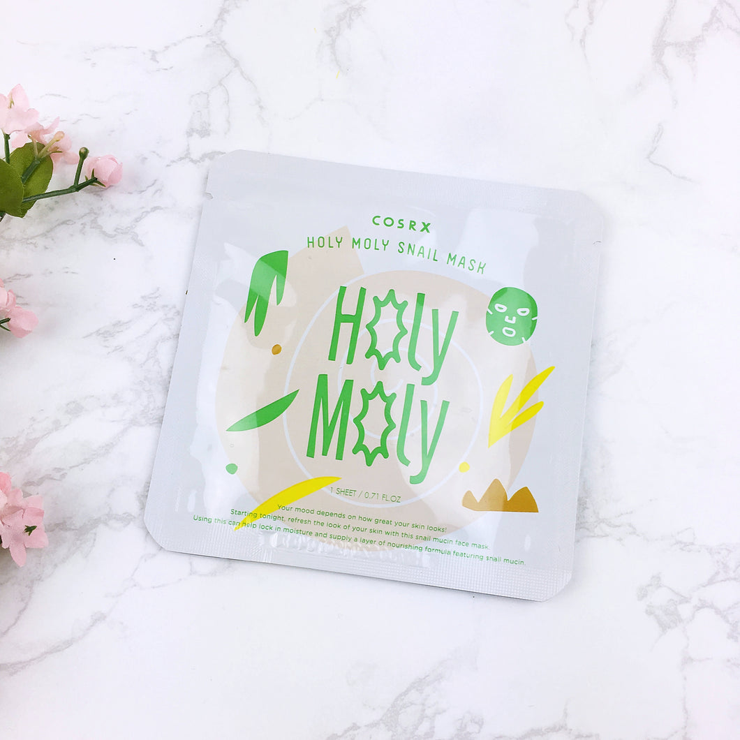 Holy Moly Snail Mask