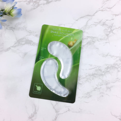Snail Solution Hydrogel Eye Patch