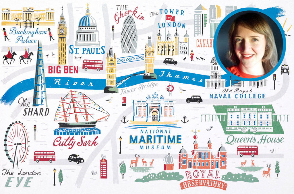London-and-Greenwich-map-artist-Anna-Simmons
