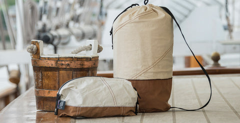 Sail Cloth bags on Cutty Sark