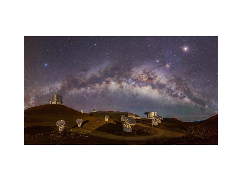 Galaxy and Radio Telescope Array