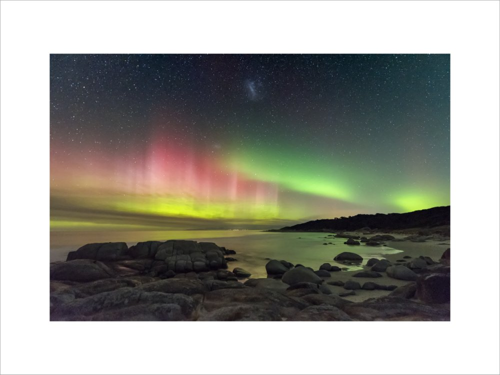 Aurora Australis from Beerbarrel Beach