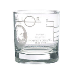 Plimsoll Line Whisky Glass