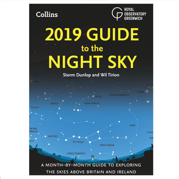 Royal Observatory Greenwich Guide To The Night Sky Book 2019