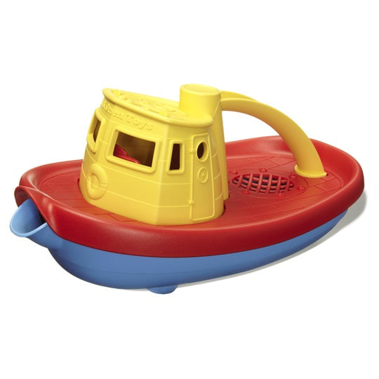 Recycled Tug Boat Bath Toy