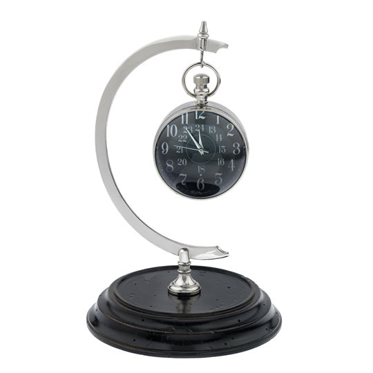 Eye of Time Table Clock And Stand