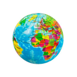 World Map Ball