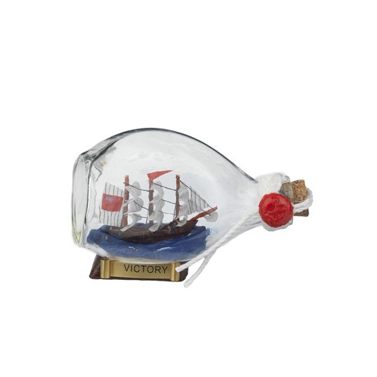 Mini HMS Victory In A Bottle