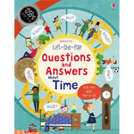 Lift-the-flap Questions and Answers about Time Book