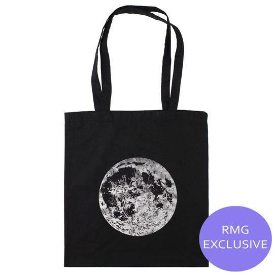 Metallic Moon Tote Bag