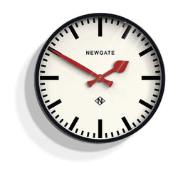 Black Putney Wall Clock
