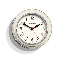 Mini Cookhouse Wall Clock White