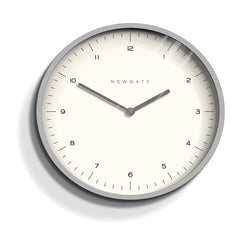 Grey Mr Turner Wall Clock