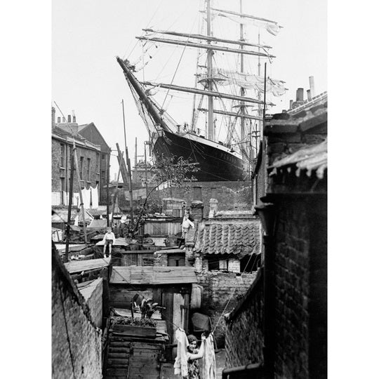Penang in Dry Dock Print