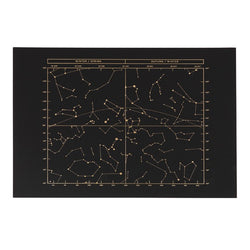 Constellations of the Night Sky Print