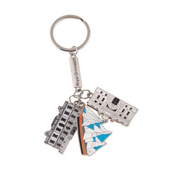 Royal Greenwich Triple Keyring