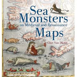 Sea Monsters On Medieval And Renaissance Maps