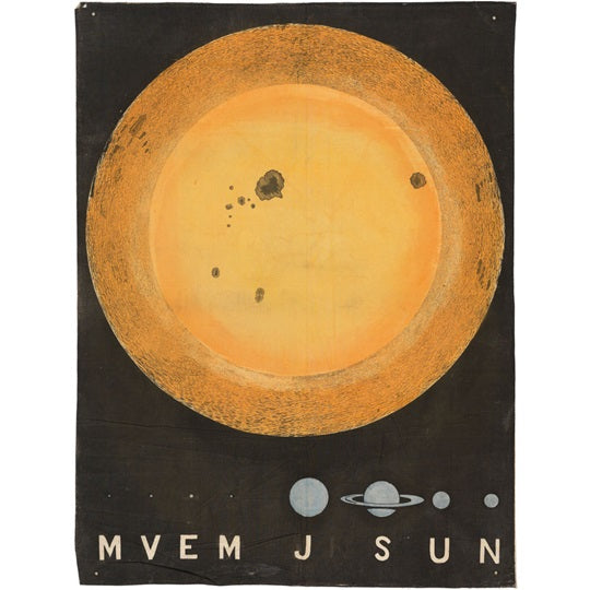 Wall Hanging Of The Sun Print