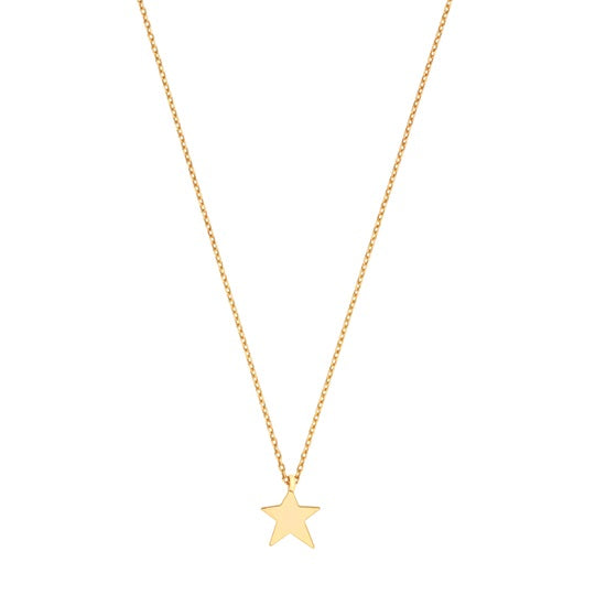 Asymmetric Star Necklace