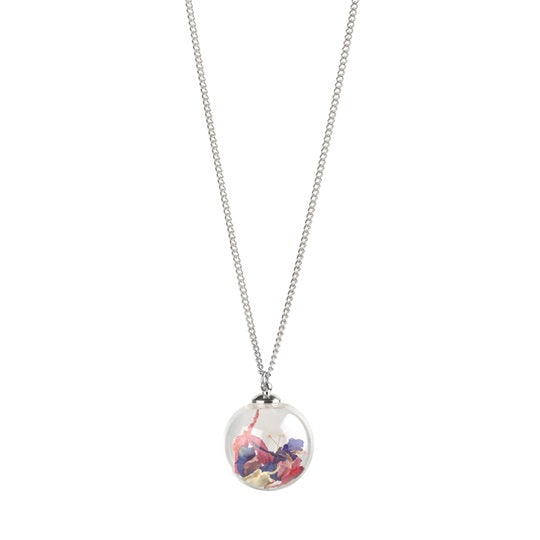 Botanical Globe Necklace