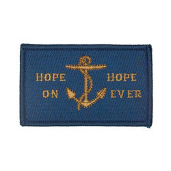 Hope On Hope Ever Embroidered Badge
