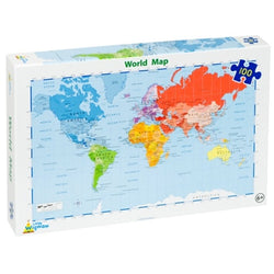 World Map Jigsaw