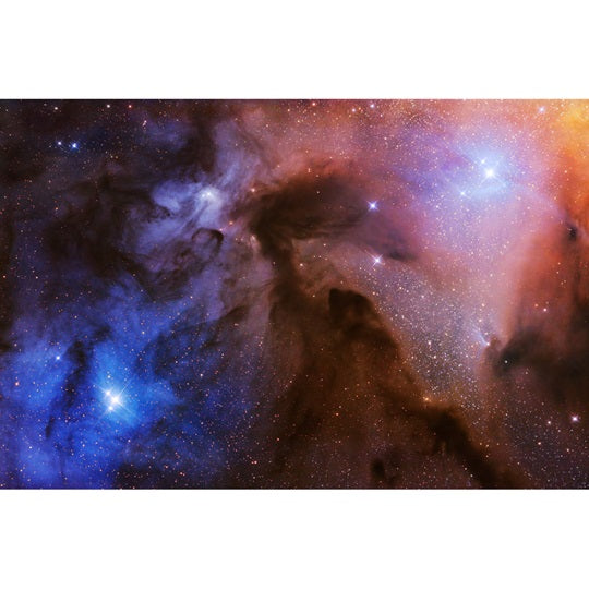 The Rho Ophiuchi Clouds Print