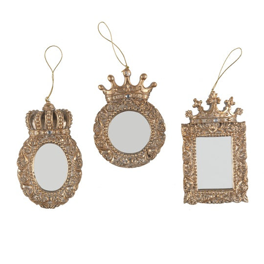 Crown Mirror Decoration