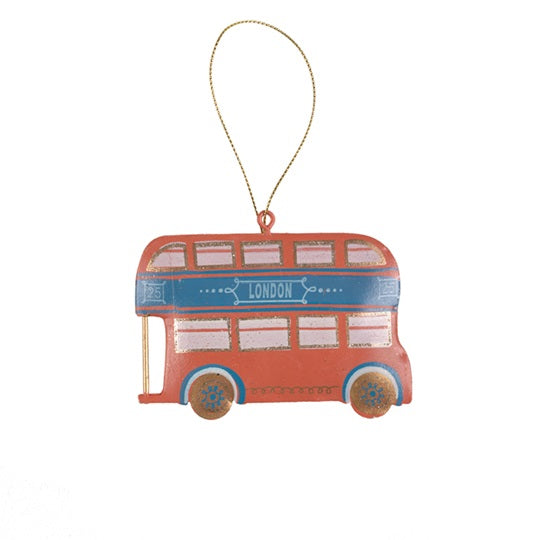 London Bus Tin Decoration