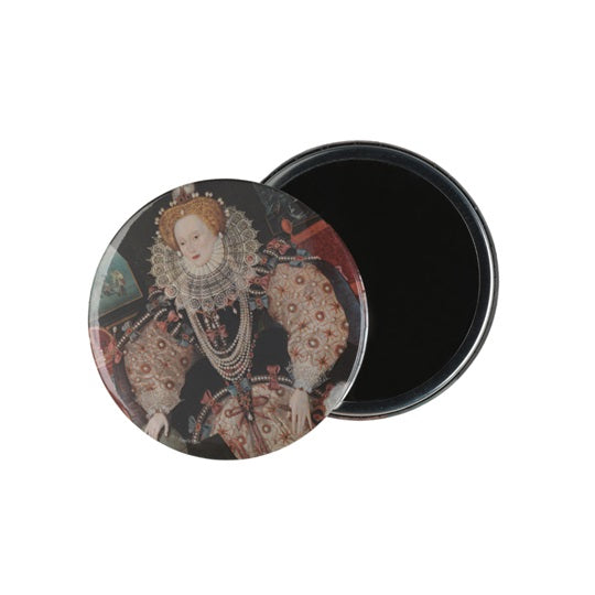 Armada Portrait Of Elizabeth I Pocket Mirror