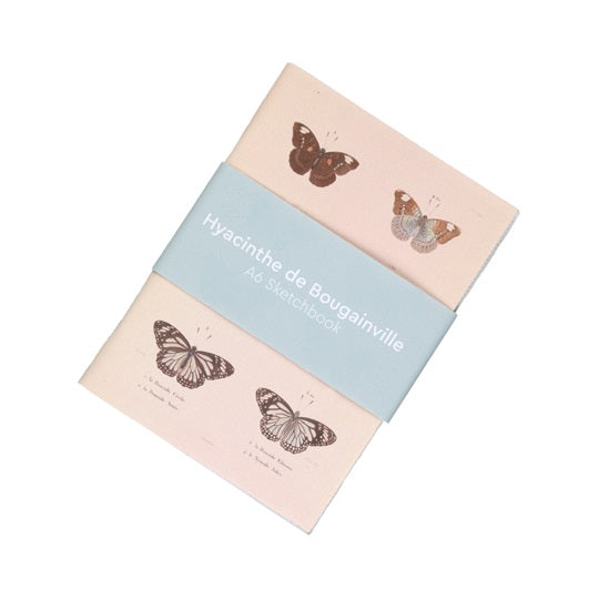 Butterfly Canvas Notebook
