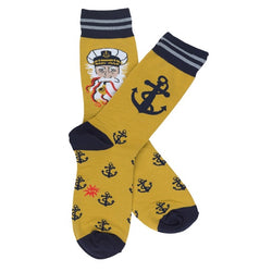 Sea Captain Adult Socks