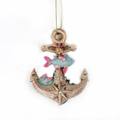 Anchor and Fish Christmas Decoration