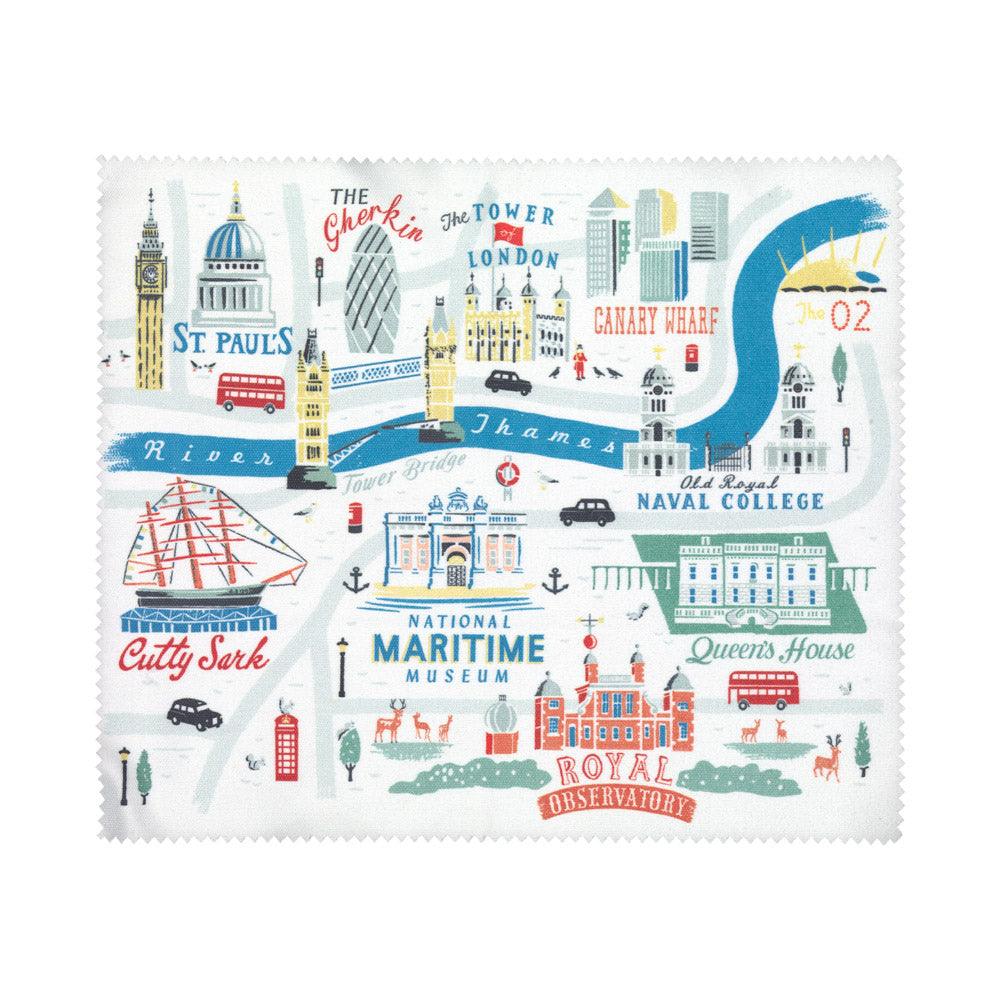 London & Greenwich Lens Cloth