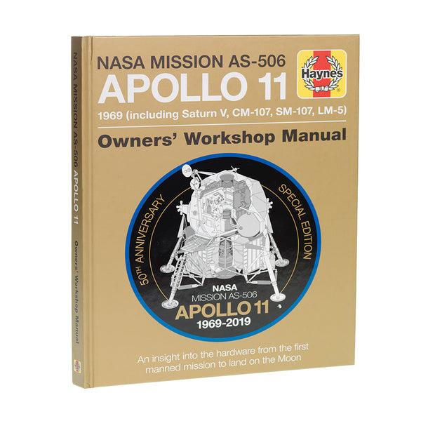 Apollo 11 50th Anniversary Edition hardback book